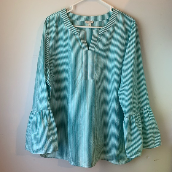 Talbots Tops - Talbots bell sleeved blouse